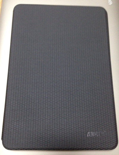 iPad mini RetinaのAnkerのケース「Anker Slim-Fit Synthetic Leather Case」をつけてみる
