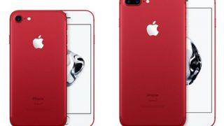 iPhone 7 (PRODUCT)RED™ Special EditionとiPhone SE  32GB 128GB発売開始